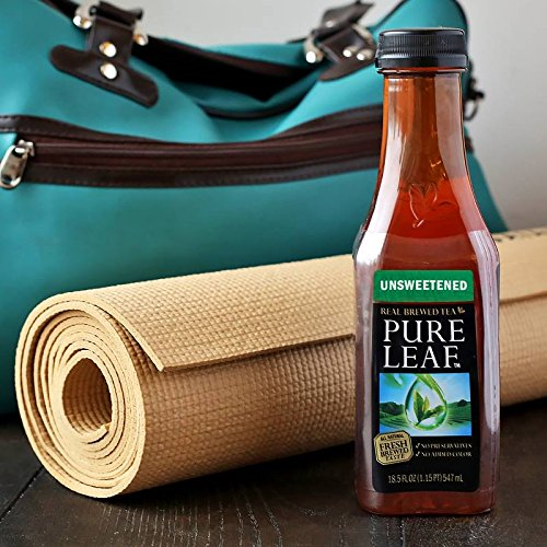 Pure Leaf Iced Tea, Unsweetened, Real Brewed Black Tea, 0 Calories, 18.5 Ounce (Pack of 12) by Pure Leaf (Image #4)