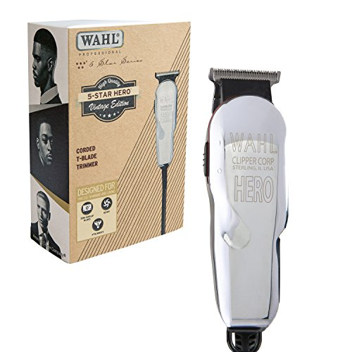 Wahl Professional 5 Star Hero Corded T Blade - Professiona Makeup Brushes