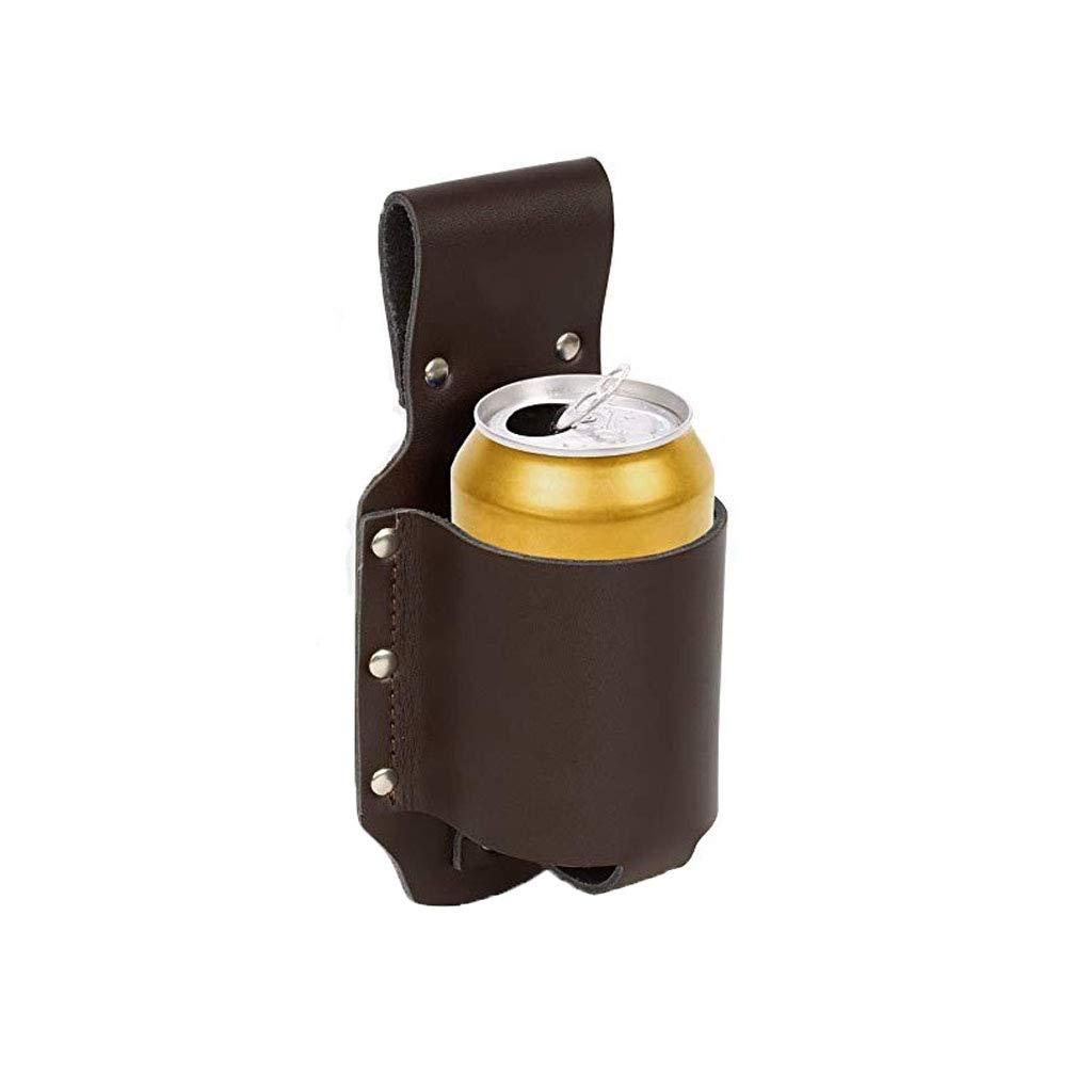 Amazon.com: 2 soportes de cerveza de piel sintética, soporte ...
