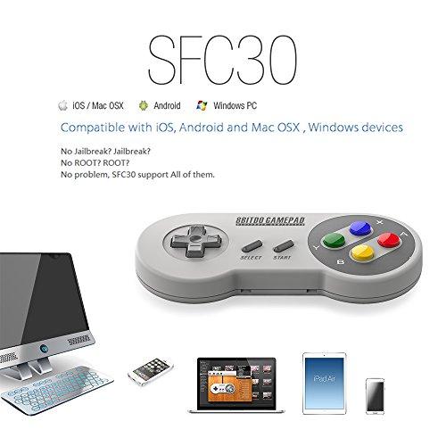 8bitdo SF30 Wireless Bluetooth Controller Dual Joystick Classic