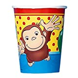 Curious George Paper Cups, 8ct, Health Care Stuffs