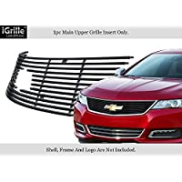 Fits 2014-2016 Chevy Impala Logo Show Stainless Steel Upper Billet Grille? #C65945J