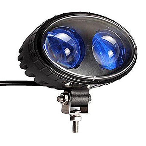 SXMA LED Forklift Safety Light 5.5inch 8W Red LED Work Light CREE Chips  Spot Warehouse Pedestrian Safe Warning Light