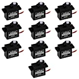 OSOYOO 10x SG90 9g Micro Servo Motor 180 degree For RC Helicopter Airplane Car Boat Robot controls Toy