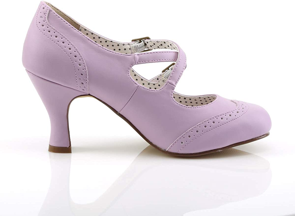 B01NBYKYPW Pin Up Couture Women\'s FLAPPER-35 Pump 61ZbZnaE1HL