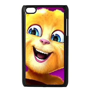 Talking Ginger, a cat iPod Touch 4 Case Black pwt wuzz