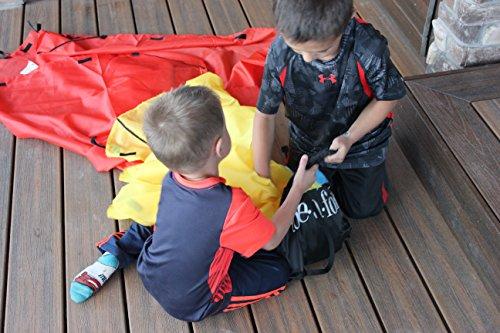 Blanket Fort Kit for Kids, The Original TOTE•A•FORT, Kids Fort, Portable Blanket Fort