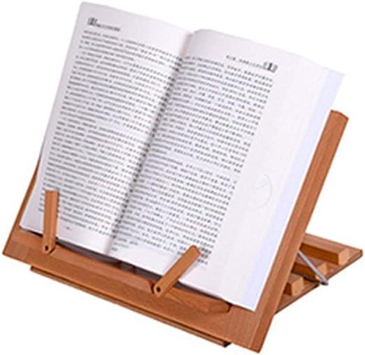 YANMUZI Support De Livre Support De Livre en Bambou Support De La Bible,A