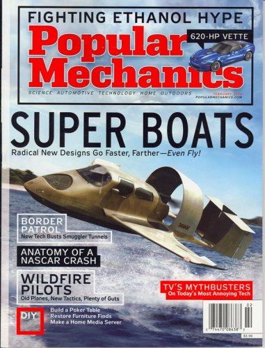 Popular Mechanics, Super Boats, February 2008 ()