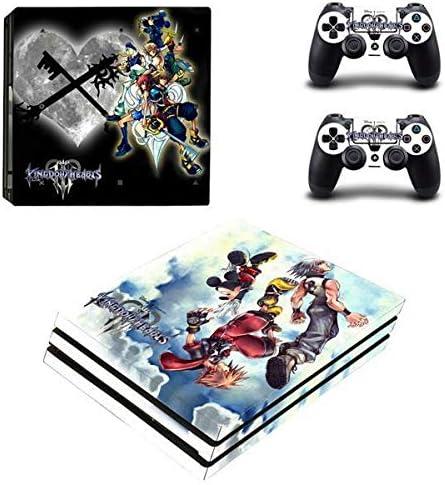 thtb Playstation 4 Pro + 2 controlador Diseño Sticker Protector Juego – Kingdom Hearts (1)/PS4 P: Amazon.es: Videojuegos