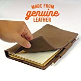 Genuine Leather Notebook Journal - A5 Leather