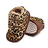 Newborn Baby Girls 3-18 Months Warm Patchwork Anti-Slip First Walkers Boots Soft Sole Shoes Yellow