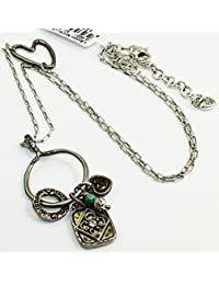 Amazon brighton necklaces pendants jewelry clothing art soul laugh silver brass long necklace mozeypictures Images