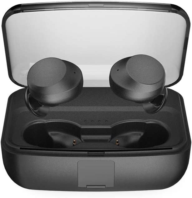 TwinboyTao Wireless Earbuds IPX8 Waterproof with 3000mAh Charging Case Bluetooth 5.0 Earphones Touch Control HD Stereo Sound in-Ear Earplugs Noise Reduction with mic