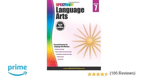 Spectrum Language Arts, Grade 7: Spectrum: 9781483812113: Amazon ...
