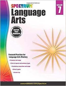 Spectrum Language Arts, Grade 7: Spectrum: 9781483812113