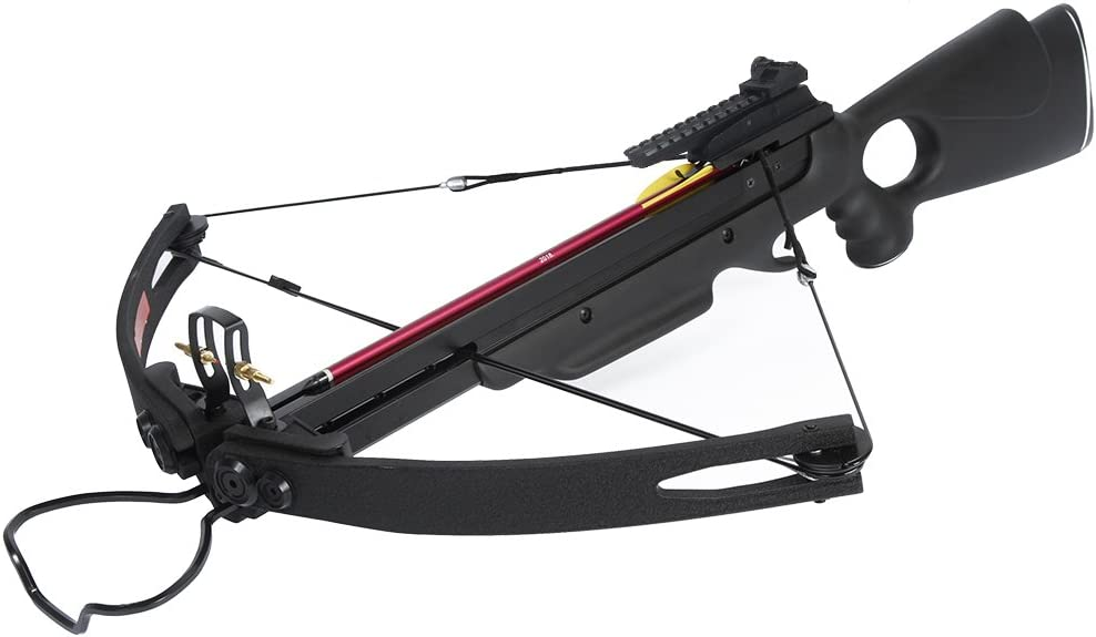 1 Black Hunting Crossbow Quiver for 6 arrows Archery Bow 150 80 50 lb NEW