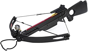 150 lb Black/Wood/Camouflage Hunting Compound Crossbow Archery Bow +Rail Lube +8 Bolts/Arrows 180 175 80 50