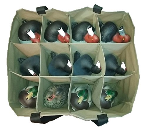 12 Pouch Standard Size 3 Row Duck Custom Decoy Bag