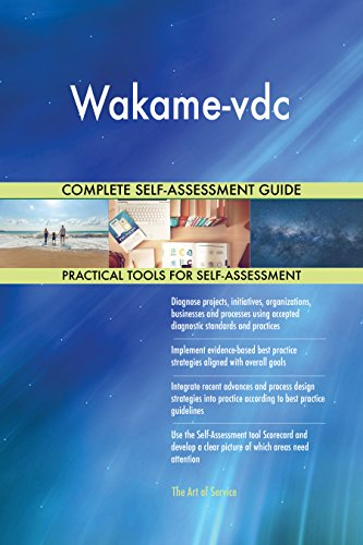 Wakame-vdc Toolkit: best-practice templates, step-by-step work plans and  maturity diagnostics