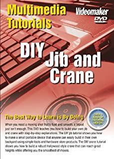 Videomaker Multimedia Tutorial - DIY Jib & Crane (DVD-ROM) [Interactive DVD] (B002W84N88) | Amazon Products