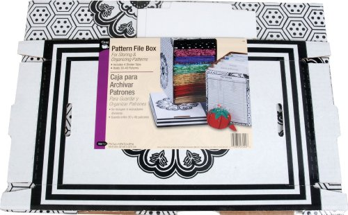 Dritz Pattern File Box for Sewing Products