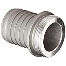 """PT Coupling Special Application Series Aluminum Discharge and Suction Hose Fitting, Coupling, 2"""" Male Shank"""