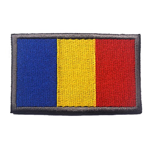 (Romania Flag Patch Embroidered Military Tactical Flag Patches)