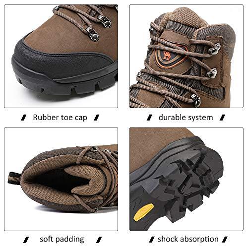 CAMEL CROWN Chaussures de Randonnée Homme Maintien Confort Respirant, Trekking Alpinisme Bottes de Randonnée Montagne… 2