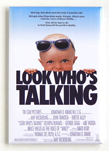 Look Who's Talking Movie Poster Fridge Magnet (2 x 3 inches)