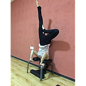 Aozora Balanced Body Headstand Bench- Ideal Chair for Practice Head Stand, Shoulderstand, Handstand and Various Yoga…