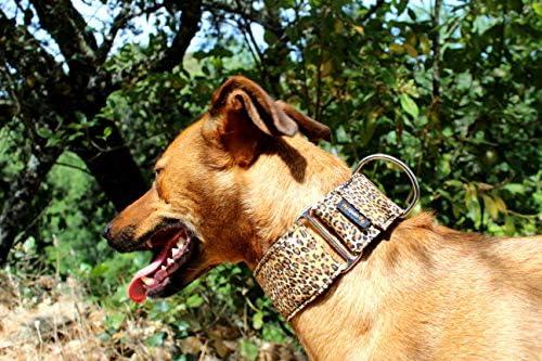 candyPet Collar Martingale Para Perros - Modelo Leopardo, M ...