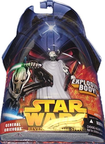 Star Wars Revenge Of The Sith General Grievous Exploding Body