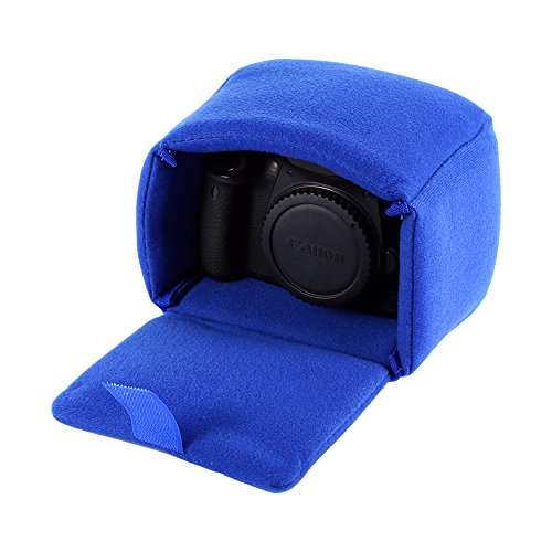 DLSR Camera Bag Insert Pad Shockproof Insert Protection Camera Case Bag Organizer Accessory For Photographing(Blue)