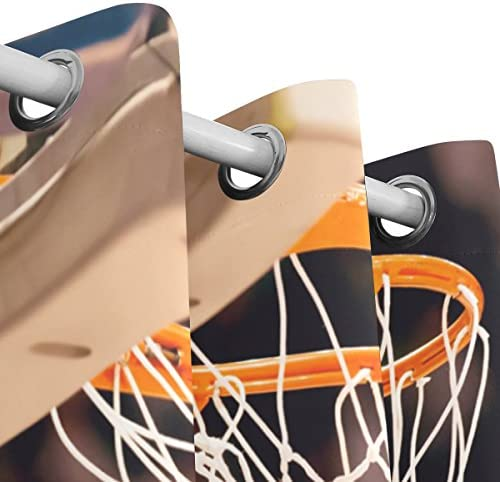 ALAZA Basketball Winning Points Window Curtain