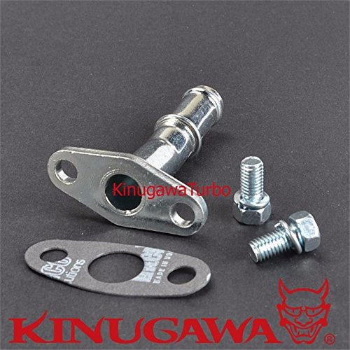 Turbo Oil Drain/Return Pipe Kit Garrett T2 T25 T28 TB02 - Turbo Oil Drain Pipe