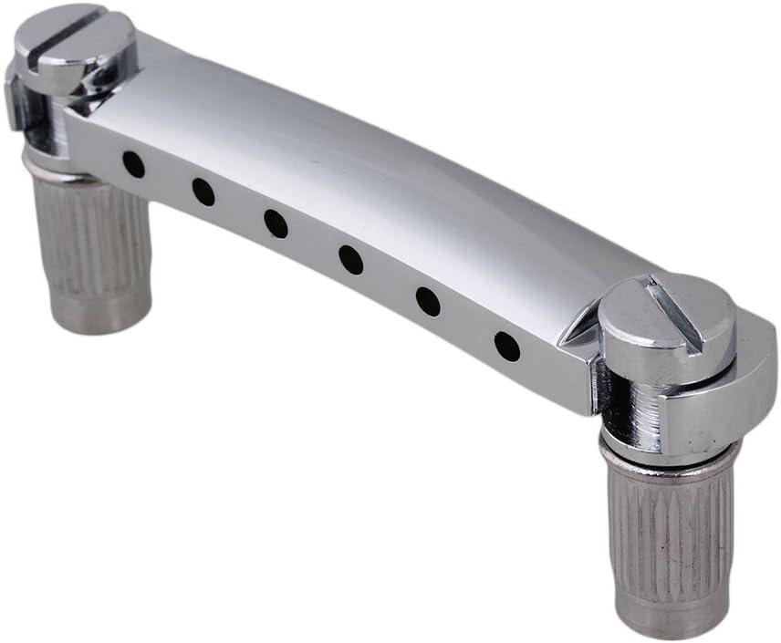 Guitar Stop Bar Tailpiece for Electric Guitar Parts Replacement Chrome