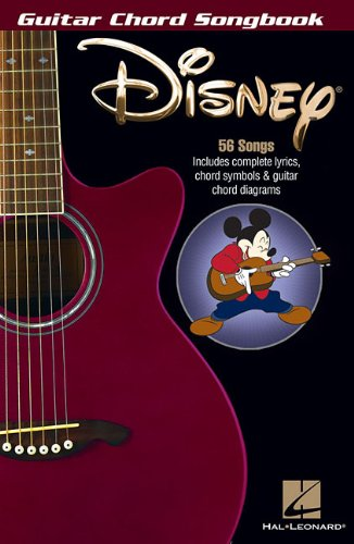 Song Chords Childrens (Disney - Guitar Chord Songbook)