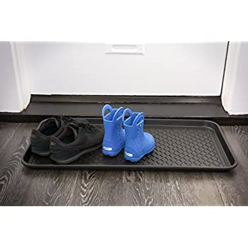 Amazon Com Birdrock Home Rubber Boot Tray 34 Inch