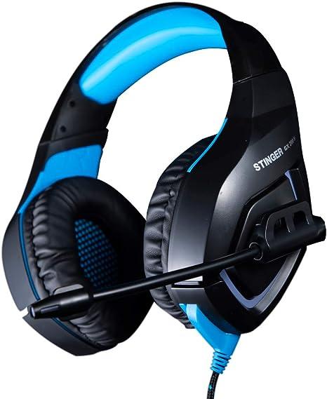 Woxter Stinger GX 200 H - Auriculares Gaming 2.0 Retroiluminados ...