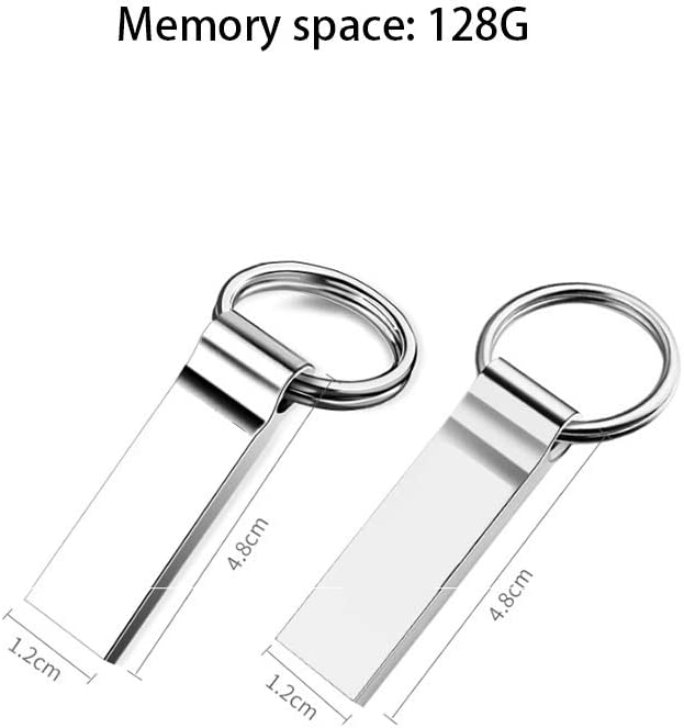 Data Storage Gift Silver 10-11 Capacity : 128G Computers Accessories Thumb Drive 16GB//32G//64G//128G Creative Personality USB Flash Drive
