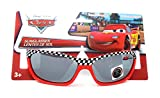 Disney Pixar Kids Cars Sunglasses in Red with Black and White Checkered