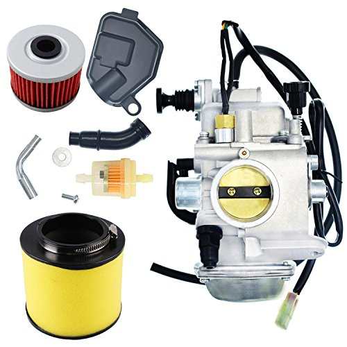 New TRX350 Carburetor Oil Filterw/Air Filter For Honda Rancher 350 TRX350 350ES 350FE 350FMTE 350TM 2000-2006 Carb