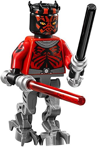 Jekatoys Star Wars Minifigure   Darth Maul Cyborg With Darksaber Lightsaber Minifigures Minifigs New 2016 Toy Man Building Block Brick Minifigure Limited Time Offer