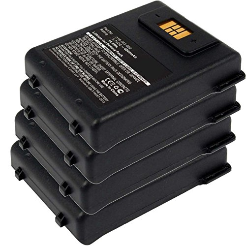 4x Exell EBS-CN70 Li-Ion 3.7V 4000mAh Batteries For Intermec CN70, CN70e. Replaces Cameron Sino CS-ICN700BL, INTERMEC 318-043-002 by Exell Battery