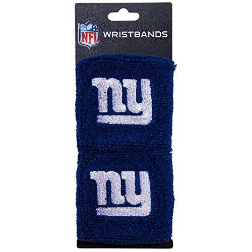 Franklin Sports New York Giants Wristbands - 2.5