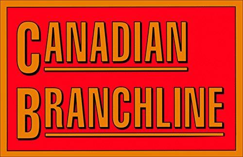 CANADIAN BRANCHLINE Railroad Sticker (train rail rr canada)