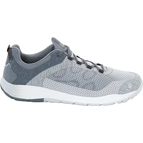 Jack Wolfskin Womens/Ladies Portland Chill Low Light Fast Dry Trainers Grey Haze