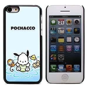 MOBILEONE Apple iPhone 5C Carcasa Trasera Rigida Aluminio Con 3x Protectores de Pantalla y Lapiz Boligrafo - POCHACCO DOG
