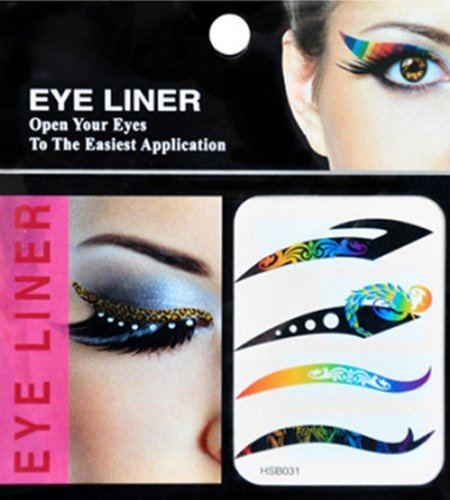 Easter gifts 4 pairs of fashion rainbow color temporary eyes easter gifts 4 pairs of fashion rainbow color temporary eyes stickers tattoos transferable eyeshadow eyeliner negle Images